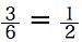 確率基礎 確率の定義 3/6=1/2