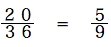 spi非言語 確率基礎 基礎例題20/36=5/9
