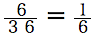 spi非言語 確率例題 6/36=1/6