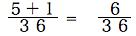 spi非言語 確率基礎 和の法則5+1/36=6/36