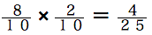 spi非言語 確率練習問題 8/10×2/10=4/25
